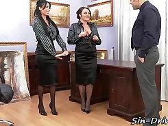 Office porn featuring kinky coworkers, horny salespeople, bosses, secretaries